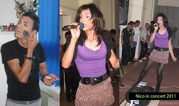 Concert travestit Nico