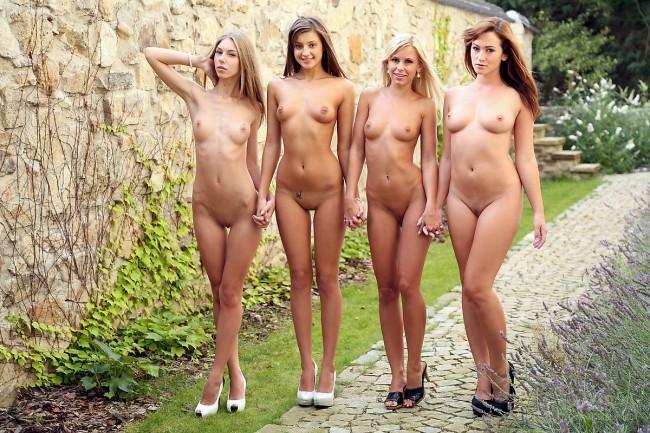 фото видео молодых русских девушек голых
