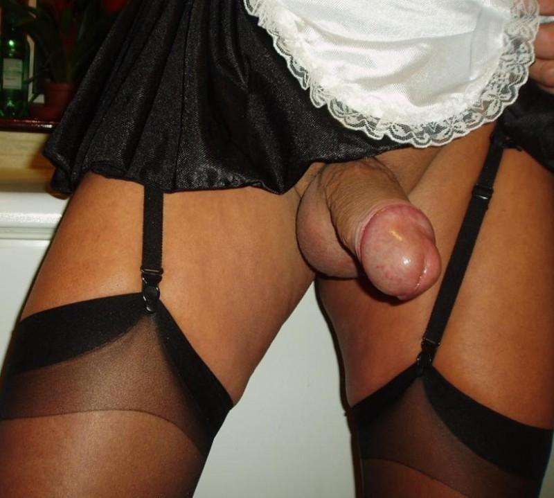 Трансы в женском белье фото