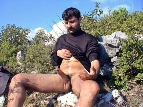 Cock and ball massage